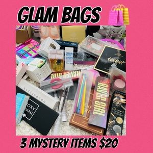 💰GLAM BAGS- 3 MYSTERY ITEMS $20 💰